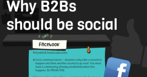 Why B2Bs should be social