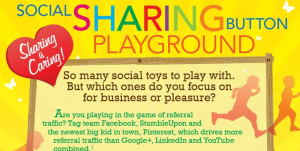 Social sharing button playground