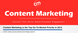 5.	Content Marketing – How Content Can Drive Sales-Focused Engagement