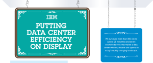 5.	IBM – Putting Data Center Efficiency on Display